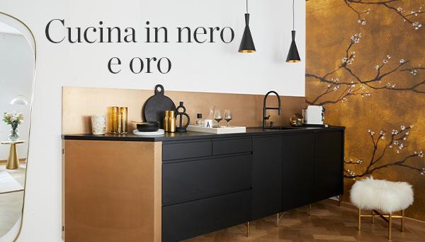 Altri prodotti del Look »Cucina in nero e oro«