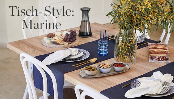 Andere Produkte aus dem Look »Tisch-Style: Marine«