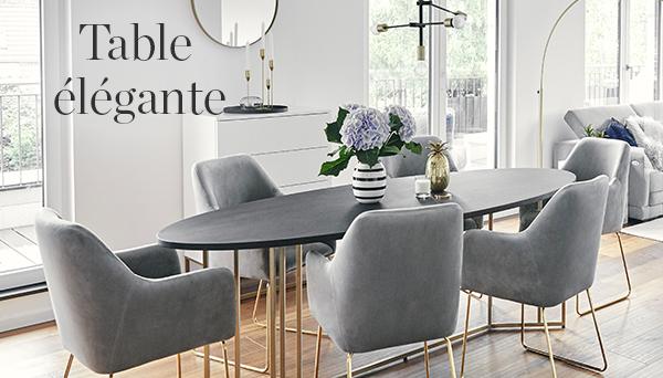 Autres articles du look »Table élégante«