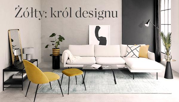Żółty: król designu