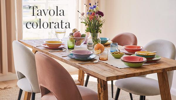 Altri prodotti del Look »Tavola colorata«