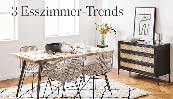 3 Esszimmer Trends