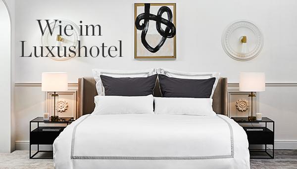 Wie im Luxushotel