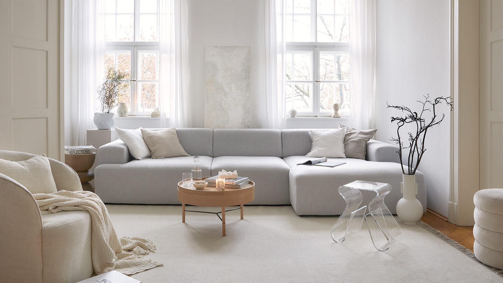 Kuschelig in Weiß