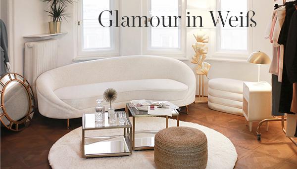 Glamour in Weiß