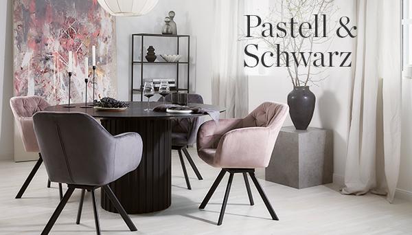 Pastell & Schwarz