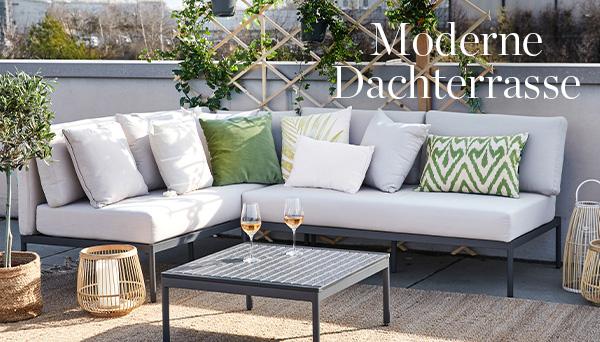 Moderne Dachterrasse