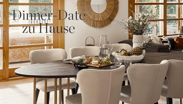 Dinner-Date zu Hause