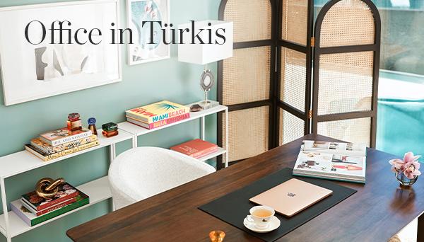 Office in Türkis