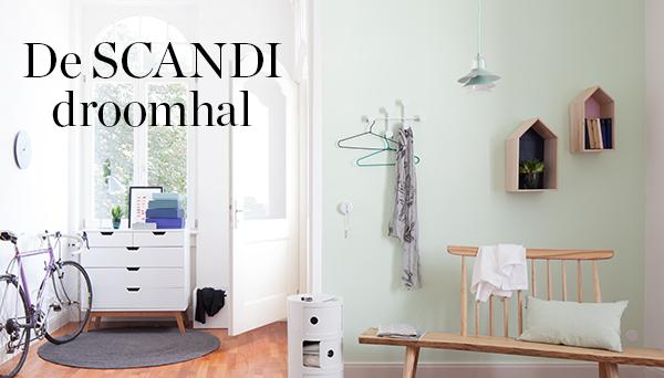Meer producten uit de look »De Scandi droomhal«