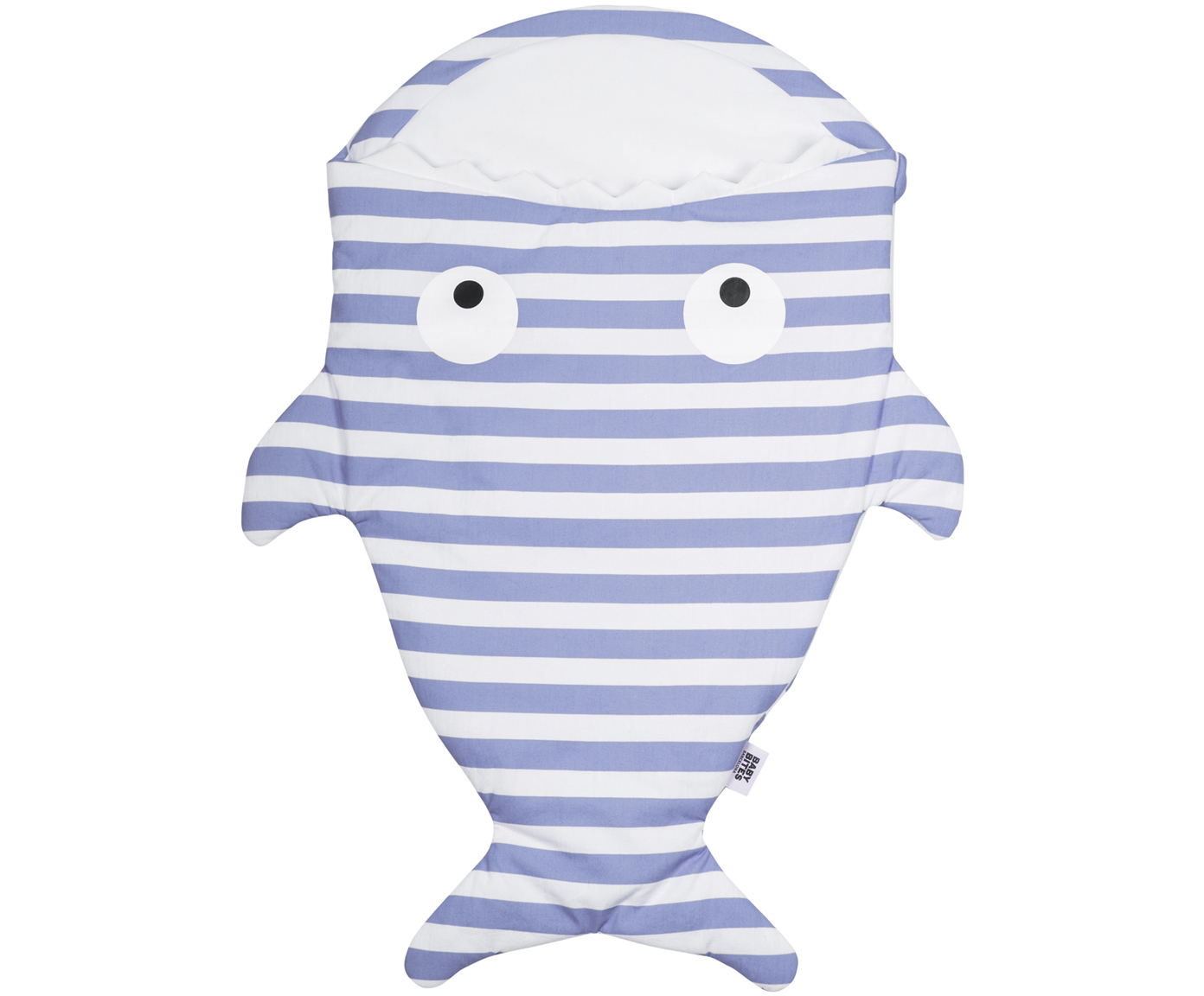 Kinder-Schlafsack Mini Shark Stripes
