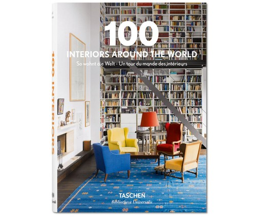Buch 100 Interiors Around the World, Mehrfarbig