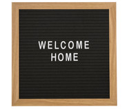 Letterboard Wall Plaque, 291-delig