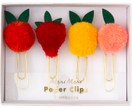 Paperclipset Fruit, 4-delig