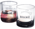 Cocktailglas-Set Cyanide & Arsenic, 2-tlg.