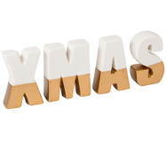 Set lettere decorative Xmas, 4 pz.