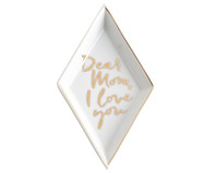 Deko-Schale Dear Mom I Love You