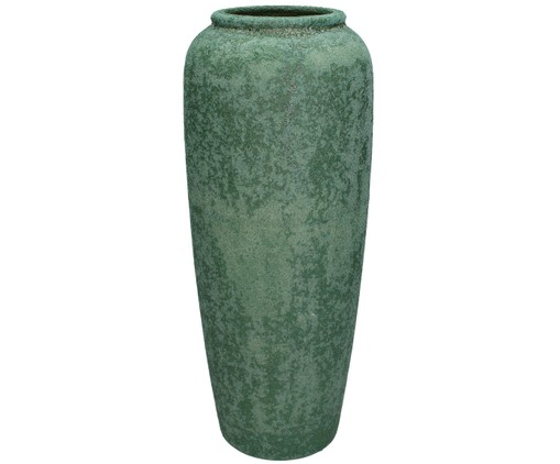 Vaso decorativo Earth Long, Verde