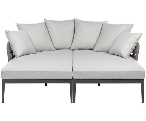 Daybeds in grau bizzotto westwingnow - Daybed garten ...
