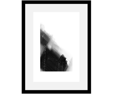 Ingelijste digitale print Abstract