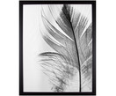 Ingelijste digitale print Feather