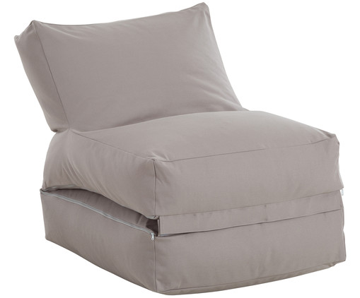 In- & Outdoor-Sitzsack Twist, Grau