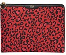 iPad Air Hülle Red Leopard