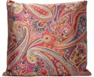 Cuscino Ornament con motivo paisley colorato