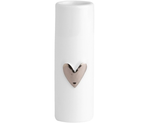 Vaso in porcellana Heart 2 pz