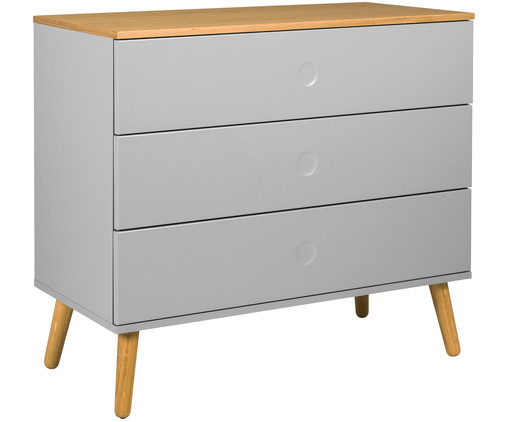 Kommode in grau tenzo westwingnow for Sideboard naturholz