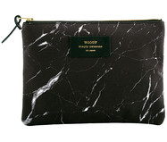 Make-up tas Black Marble