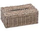 Kosmetiktuchbox Natural aus Rattan