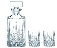 Set da Whisky in cristallo Noblesse,   3  pz.