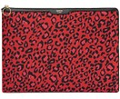 Laptophoes Red Leopard voor MacBook Pro 13 Inch