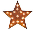 LED Leuchtobjekt Rust Star
