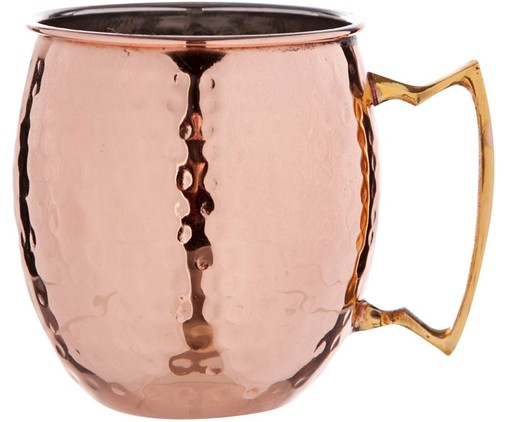 Moscow Mule-beker Hammered