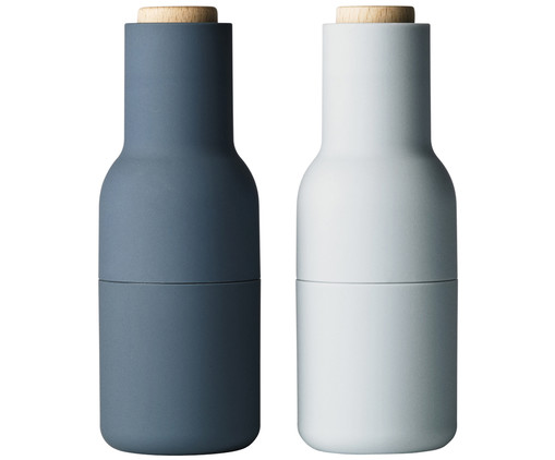 Set macina spezie Bottle Grinder, 2 pz., Blu, azzurro, marrone