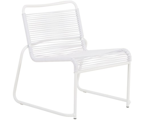 Outdoor loungefauteuil Lido, Wit