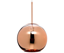 Pendelleuchte Copper Shade Round
