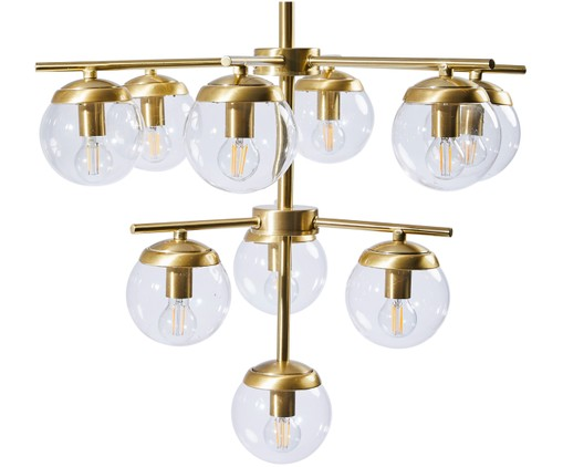 Suspension Delphine, Couleur bronze