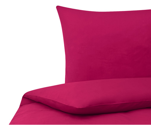 perkal bettw sche kaja in fuchsia westwingnow. Black Bedroom Furniture Sets. Home Design Ideas