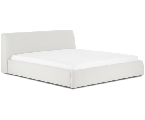 Gestoffeerd bed Cloud, Beige
