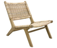 Poltrona in rattan Wicker