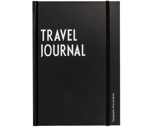 Reisboek Travel, Zwart, wit