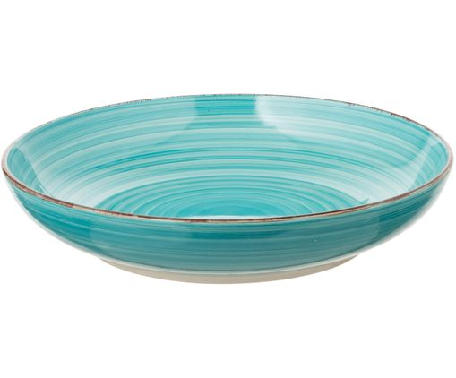 Coupe Baita Spring, Tons turquoise