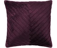 Housse de coussin en velours Betty