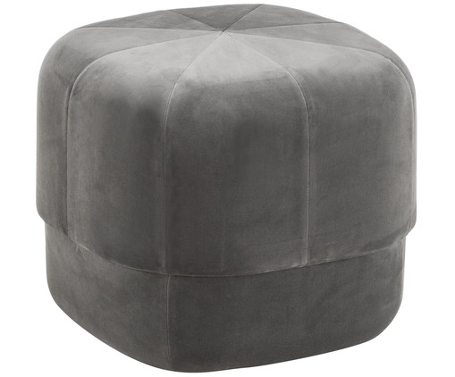 pouf in grau normann copenhagen westwingnow. Black Bedroom Furniture Sets. Home Design Ideas