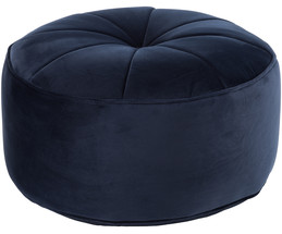 samt pouf marokko in blau liv interior westwingnow. Black Bedroom Furniture Sets. Home Design Ideas