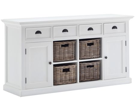 Credenza Shabby Chic Fai Da Te : Shabby chic wooden clothes toys bedroom bedside storage unit