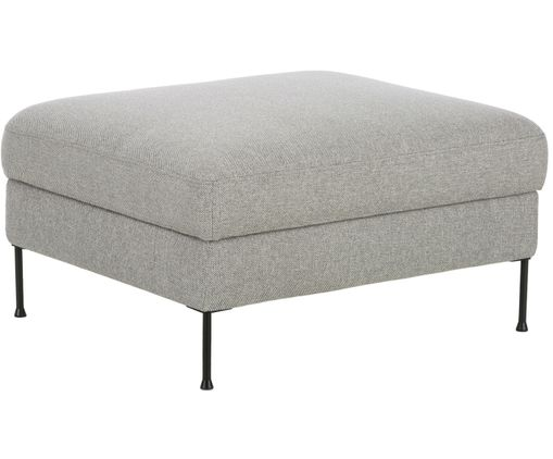 Sofa-Hocker Cucita, Hellgrau